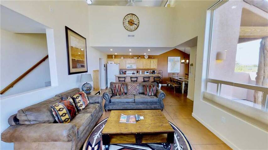 3 Bedroom 2 1/2 Bath Condo With Outdoor Heated Pool, Playground, Tennis Courts. Just 4 Miles South of Downtown Moab! - Saddle Creek ~ 3A1
