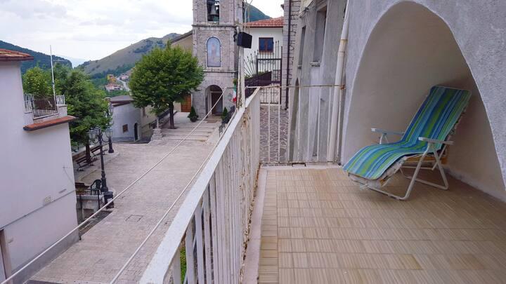 Casa montagna centro storico