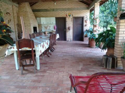 Quartos em chácara em Rio Verde de MT - MS