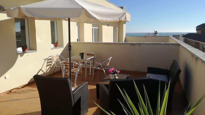 Apartamento duplex, cerca de la playa - L'Ampolla - Appartement