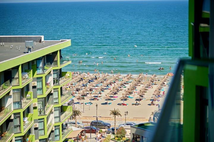 Sea Shore Apartment Alezzi Spa n Pool beach resort
