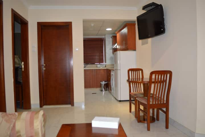 1 bedroom hotel apartment on corniche in Sharjah