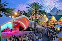The Harborwalk Village is Destin's iconic shopping and entertainment venue offer amazing waterfront dining; entertainment; and boutique shopping experiences.  Mojo is ideally located in the closest beachfront subdivision to Destin Harbor.