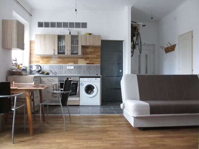 1-BR flat close to Nepliget Bus Station &M3 subway - Budapest - Pis