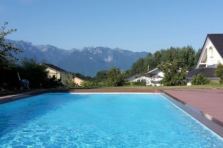 Grande villa familiale à louer proche de Montreux - Saint-Légier-La Chiésaz - Dům