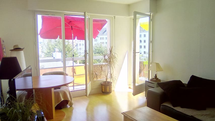 Appartement T2 avec balcon et place de parking
