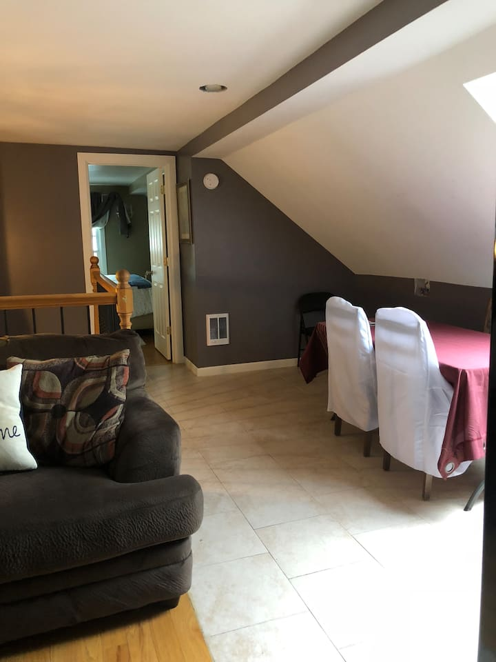 Upstairs Lounge and Dining Area