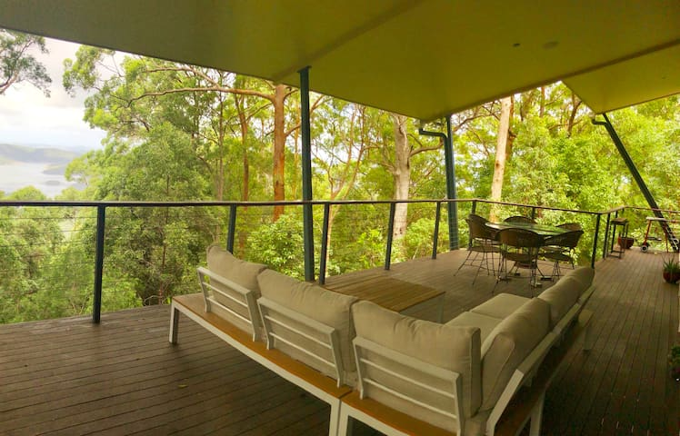 Beautiful Forest Retreat, 25 mins from Gold Coast