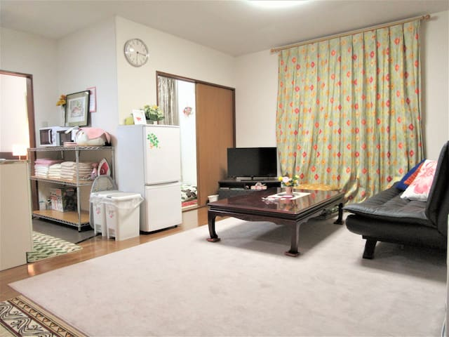 SAKURA / Cozy Apt/Asahiyama Zoo/Free Wifi& Parking