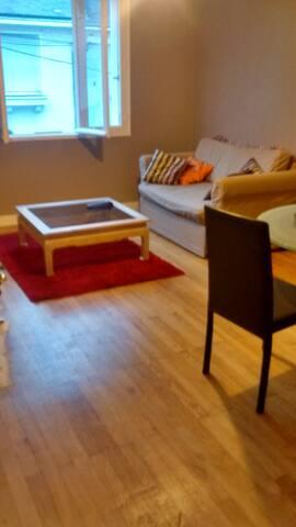 Appartement 2 personnes au calme