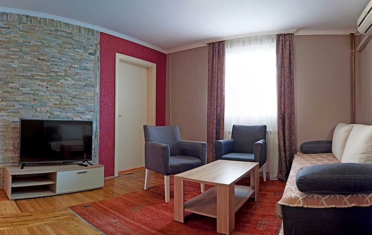 Apartment for six in Vila Boska - Palić - Appartement