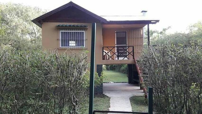 Las Hortensias, típica casa isleña