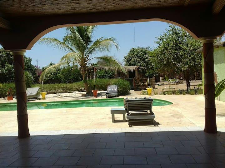 Auberge le soleil de warang, logement et excursion