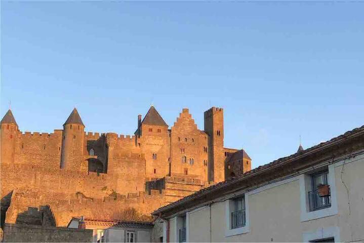 Loft avec vue imprenable sur Cité Médiévale