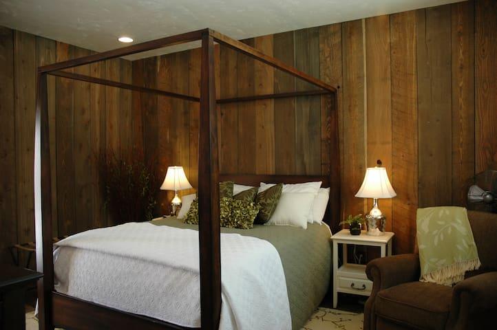 Downstairs master bedroom-Spring Room