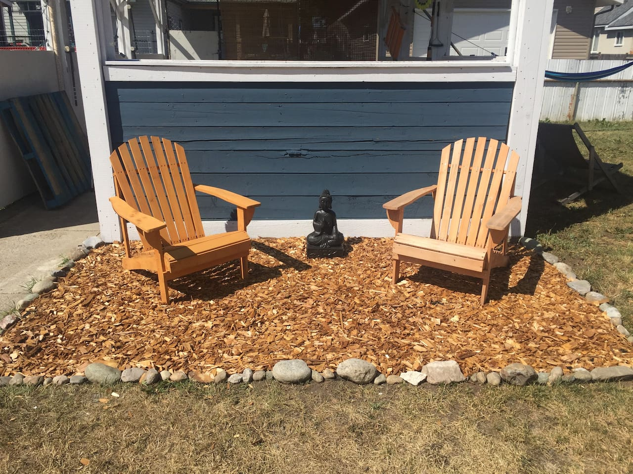 Zen garden for your morning coffee