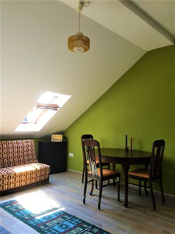 Cozy top floor appartment