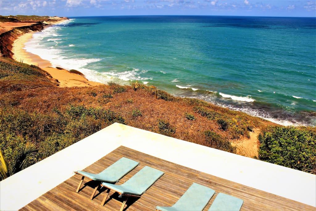 Praia de Sibauma, praia das Minas e Cancela