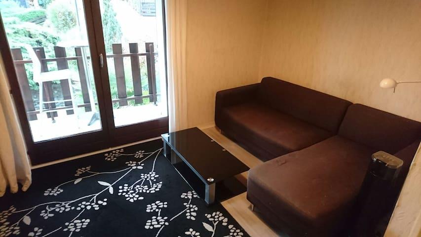 Suite avec chambre, séjour et salle de bain - Notre-Dame-de-Mésage - Dům