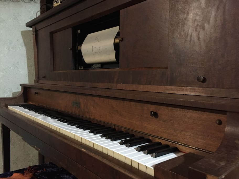 Tickle the ivories of a 1929 Player piano