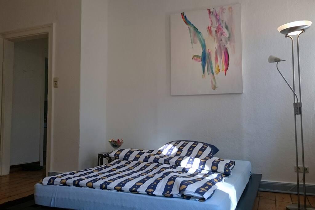 """Zimmer """"Aurora"""" richtiges Bett für 2, WLan Zugang, Internet"""