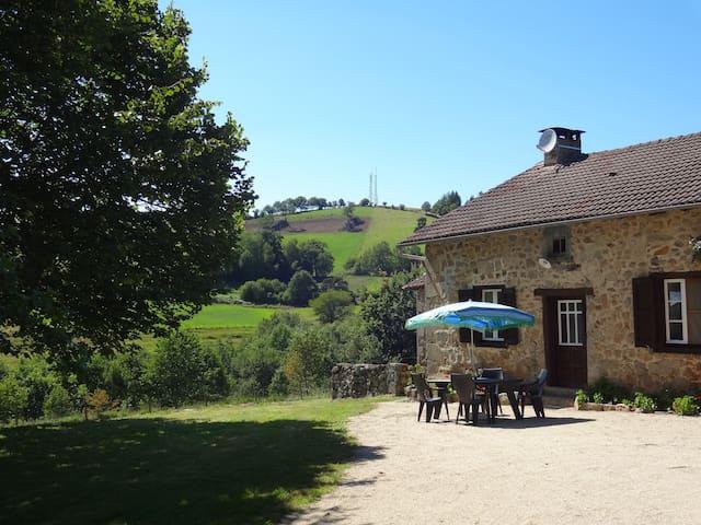 gîte rural de Messac - Laroquebrou - Maison