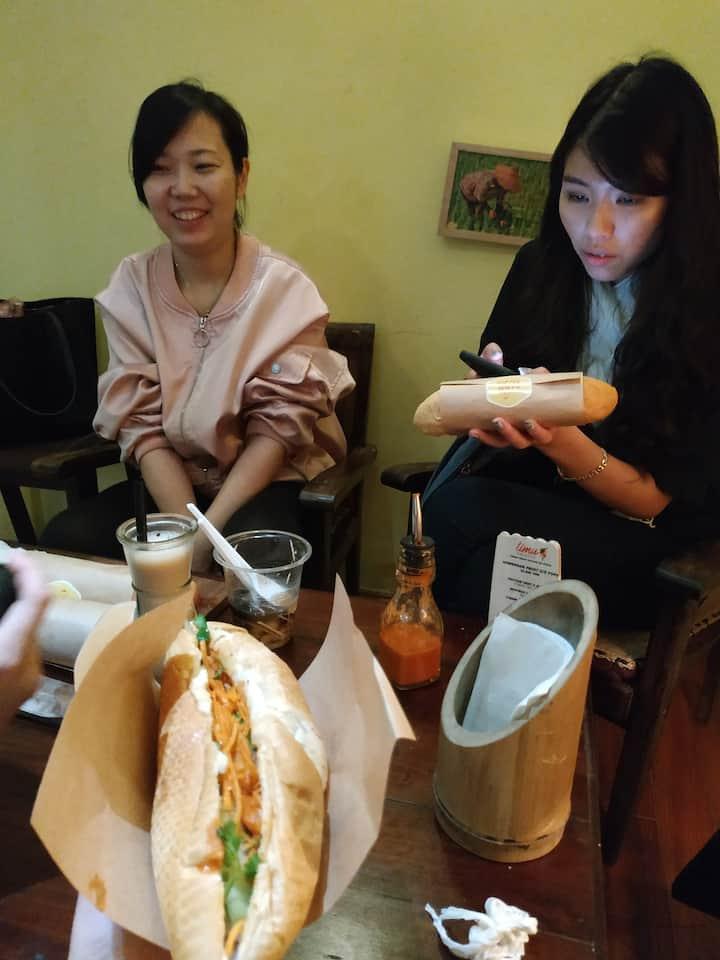 Vietnamese street food & language
