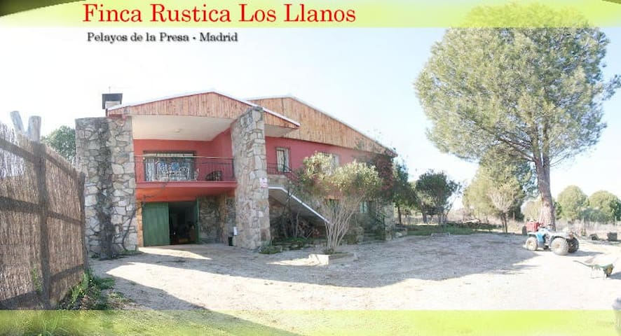 Finca Los Llanos - Pelayos de la Presa - Rumah