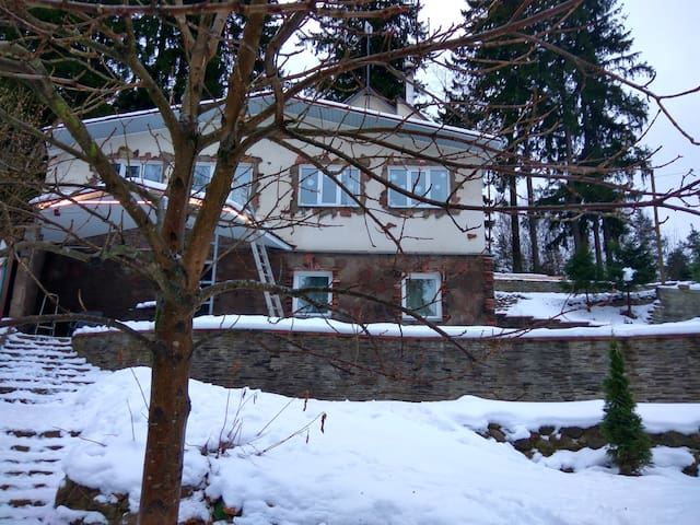 Дом в лесу рядом с городом - Toksovo - บ้าน