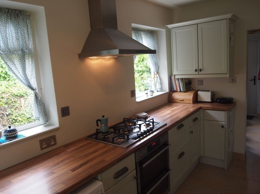 Brand new kitchen with double oven
