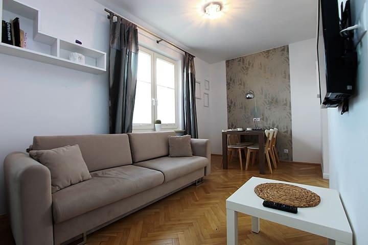 Apartament w Centrum Białegostoku - Bialystok - Apartment