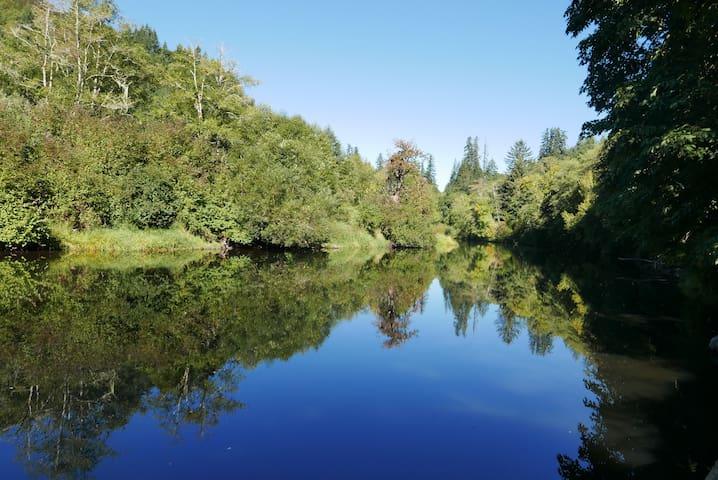 Elderberry Eden - Private Riverfront Retreat