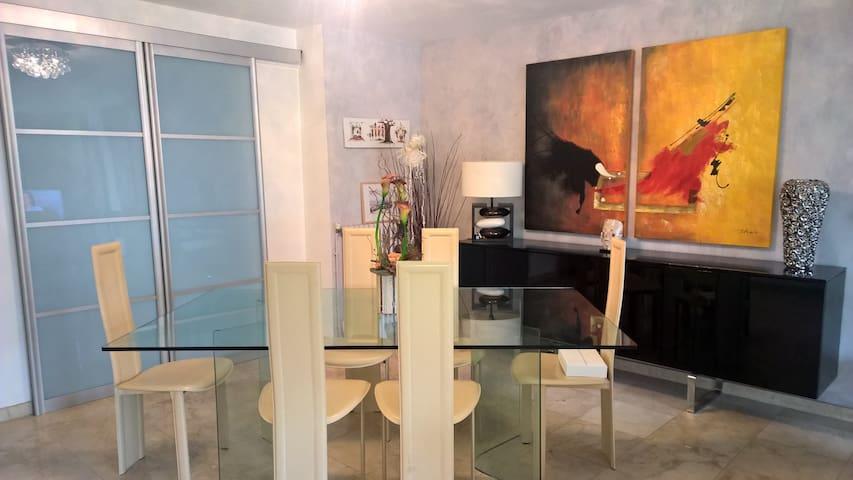 MAISON AVEC  JARDIN EN VILLE - Carcassonne - Villa