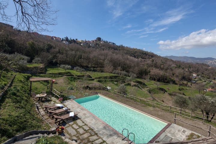 Casale del 1600-Swimming pool - Wi Fi-Parking FREE