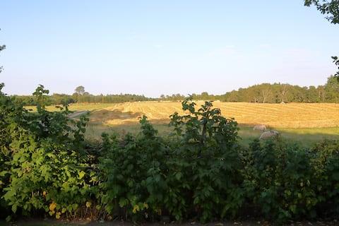 Værelse (nr2) på stemningsfuld gård