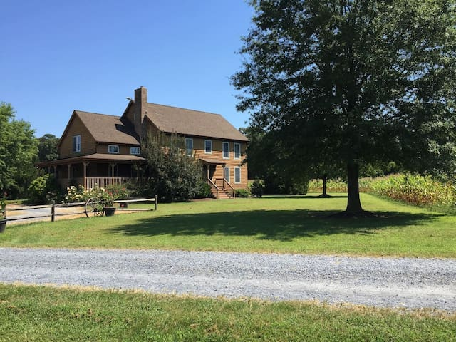 Farmhouse Retreat-rural-must see! - Bridgeville - Hus