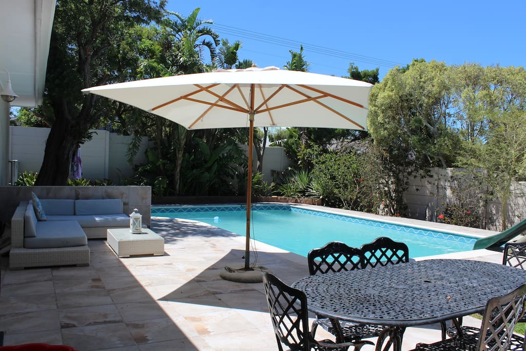 Tranquil private and well equipped pool home houses for for Best private dining rooms cape town