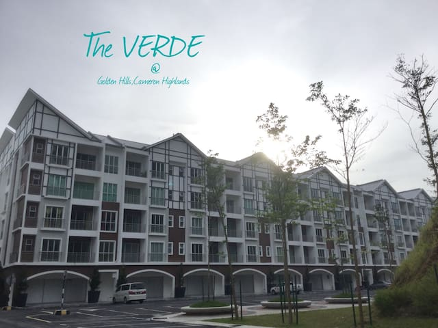 The VERDE Holiday Home, Golden Hills, CHighlands - Tanah Rata - Appartement