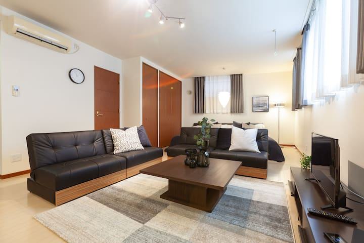 【Near Roppongi】5 min Sta.!Good location/Free Wi-Fi