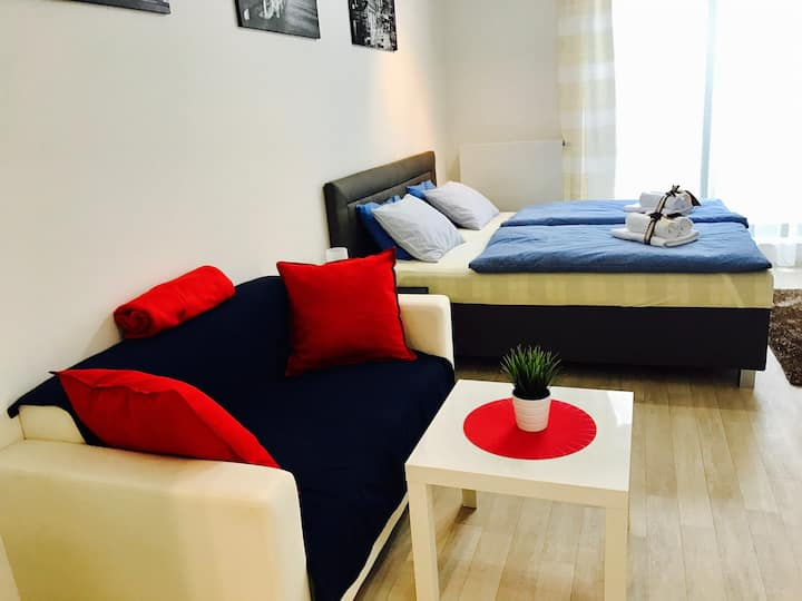 New luxury flat in centre of Prague