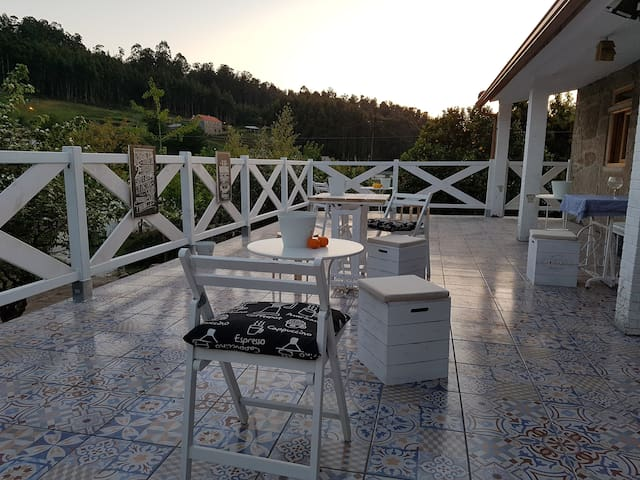 B&B Rias Baixas casa aldea - Pontevedra - Bed & Breakfast