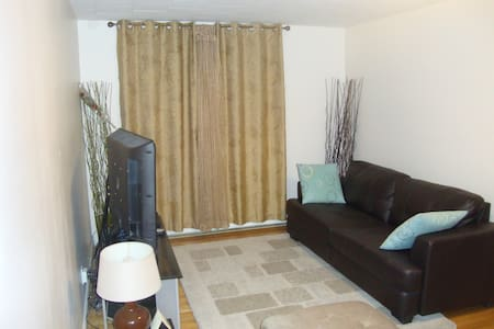 Cozy and comfy 2 bdrm apt in Montreal,Qc. - Montreal - Byt