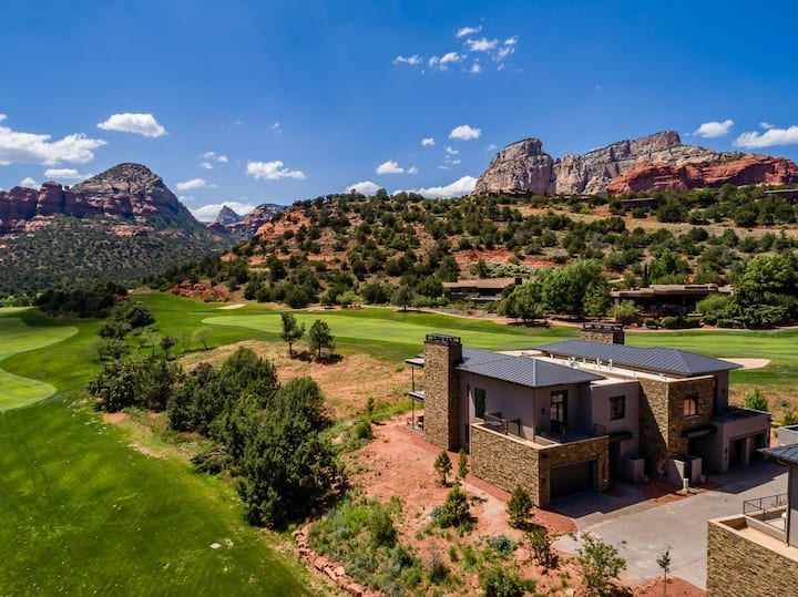 Seven Canyons Pedregosa 29-Complete Luxury + Extras and Red Rock Vistas
