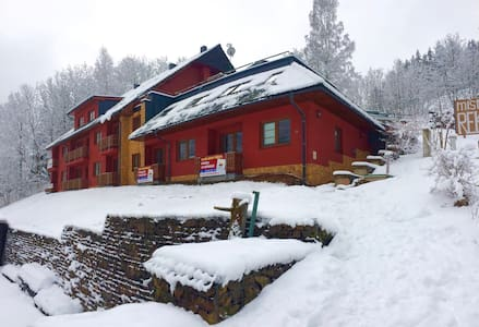 Private apartment in a ski resort - Žacléř - Leilighet