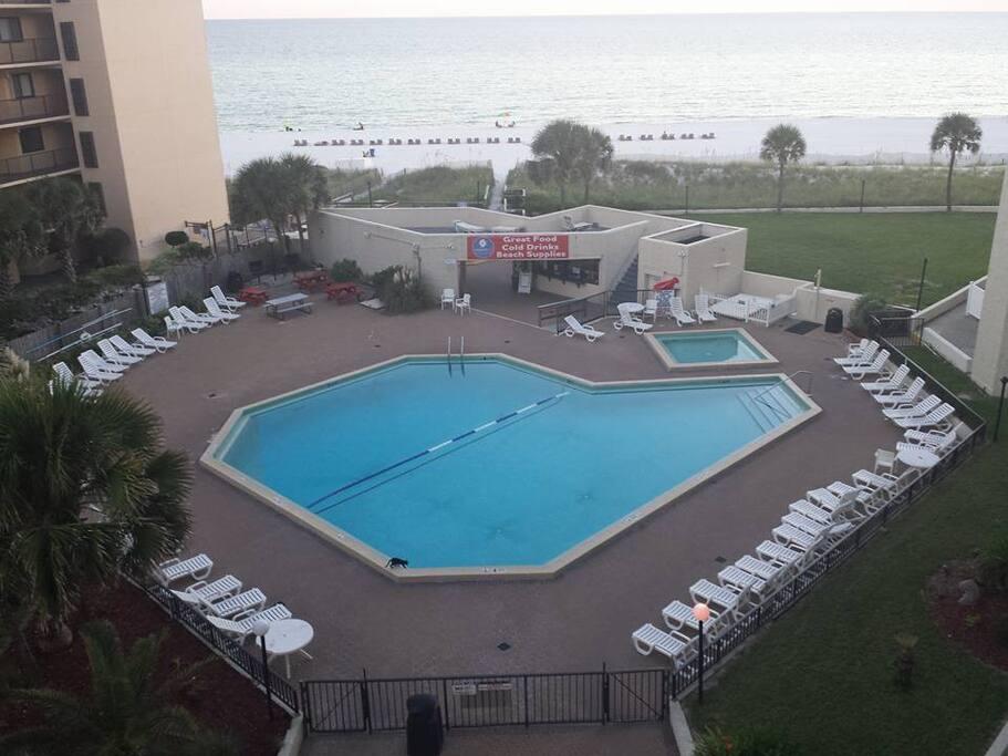 Oversized Pool area