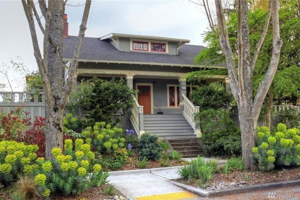 106 year old Craftsman home