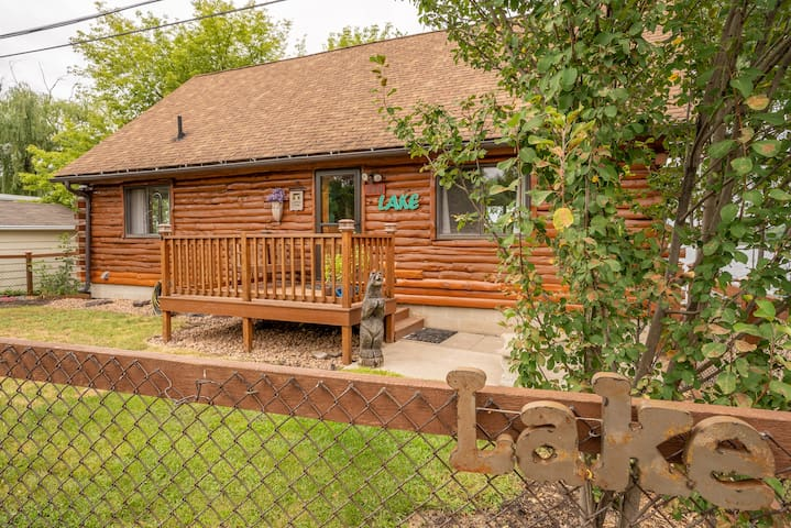 Log Cabin Lake living in the heart of Twin Cities