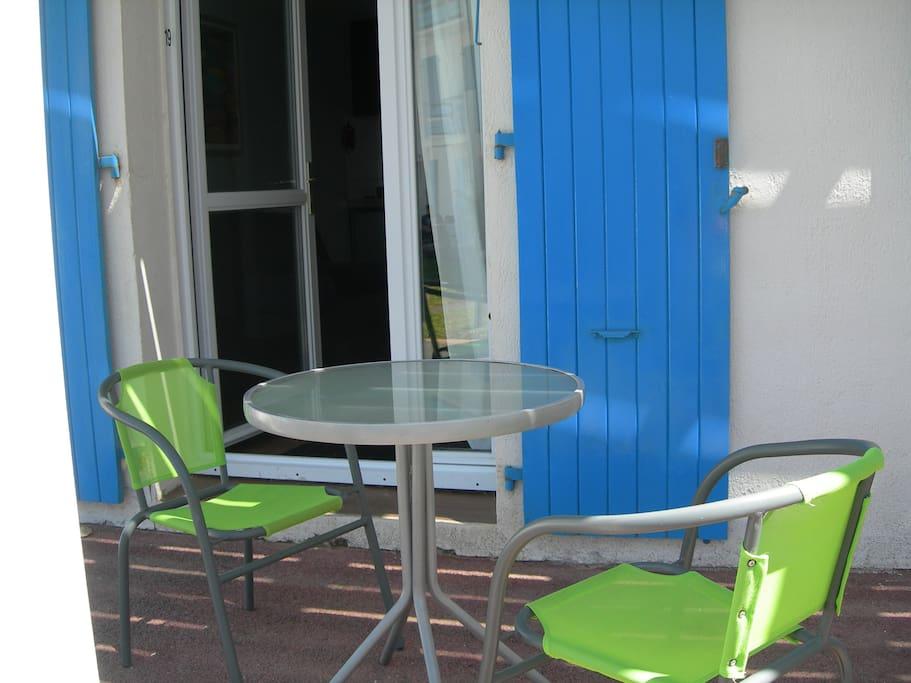 terrasse de l appartement