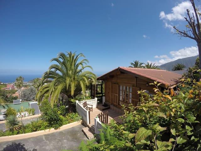 Casa Madera mit Meeresblick - La Luz - House