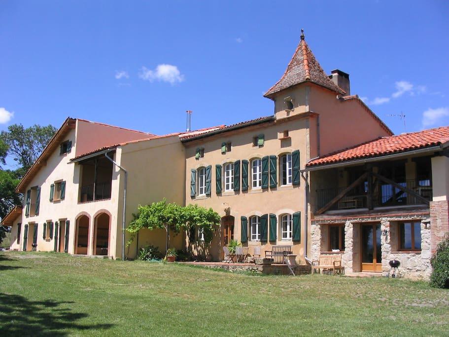 Manzac d'en Bas in SW France near Toulouse
